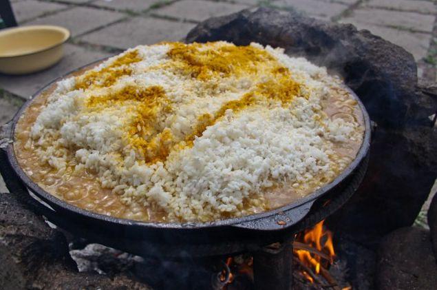 Рис по-азербайджански