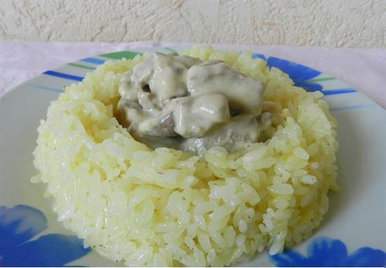 Приготовленный в духовке рис